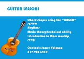 Guitar Club starts 10/6/ Club de Guitarra empeza 10/6