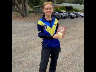 Talia - Victoria Junior Air Pistol Champion