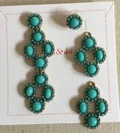 Sardinia Chandeliers - turquoise