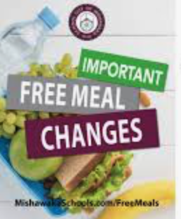 Meal Pick-up Schedule Change