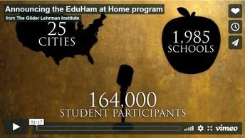 EduHam at Home Program- FREE for Kids & Families
