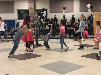 The PTO Sock Hop was a blast!