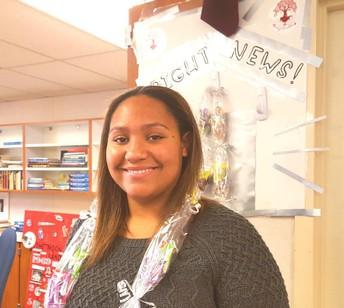 Congratulations!... Bright News Student ~ Teja Burgess