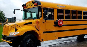 Buses will drop off at the back of the school. No cars will be allowed to drop off in the back.
