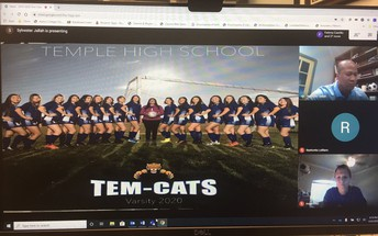 Virtual Tem-Cat Soccer Banquet