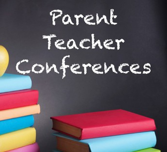Parent/Teacher Conferences will be on Thursday Oct. 31