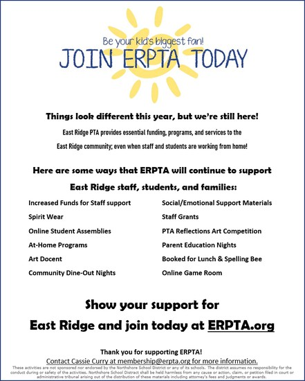 Join ERPTA Today flyer
