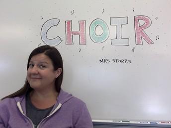 Mrs. Storrs - Choir