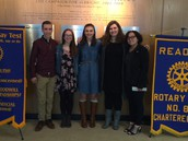 OVHS Students Participate in Speech Contest