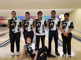 # 8 in the State...Congratulations Boys Bowling Team!