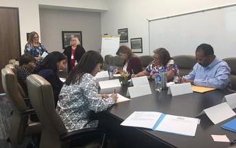 Learning @ Board Retreat with Region 12