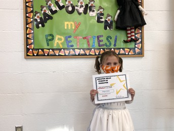 Appleton-Milan October Character Nominee Arya Lentz