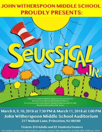 John Witherspoon Middle School Presents Seussical, Jr.