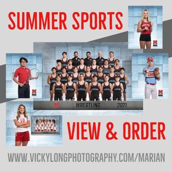 Marian Sports Photo Updates!