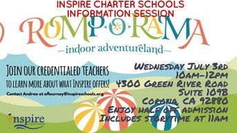 Info Session at Romp-O-Rama!