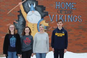 Una estudiante de Bernotas de 8vo grado ganó la División Regional del Concurso de Ensayo de la Historia Americana