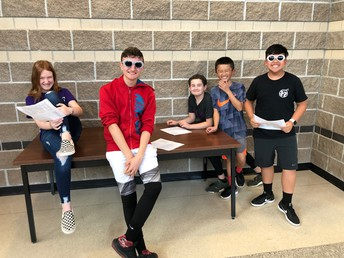 Cool Shades, Creative Writing & Performances!