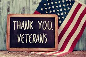No School Wednesday Tues. Nov. 11th in Honor of Veterans Day
