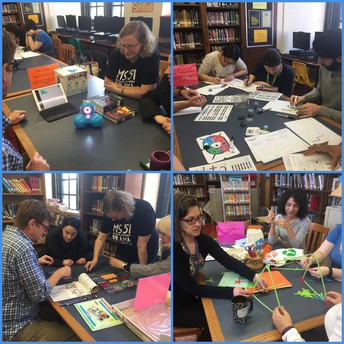 Makerspace staff PD