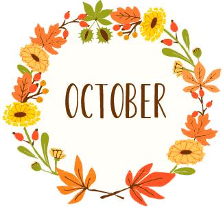 Happy October!!