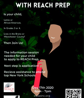 Reach Prep Info Session for 3rd & 4th Grade Students