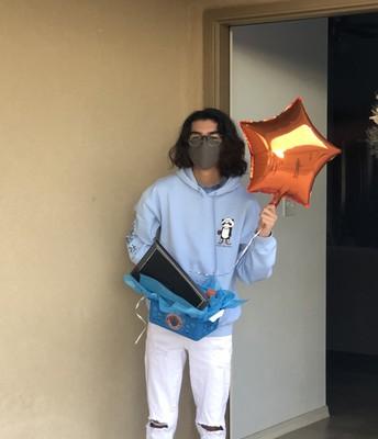 Trent Estrada- 9th grade