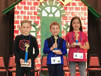 Central 2nd Grade Spelling Bee Winners