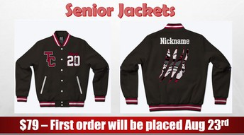 Check out our senior jacket!