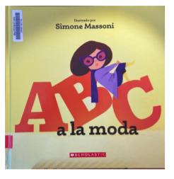 """Book Blurb- """"ABC a la moda"""""""