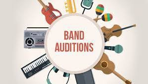 2020-2021 Band Audition Information