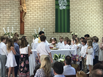YEAR 4 FIRST EUCHARIST/ FIRST HOLY COMMUNION