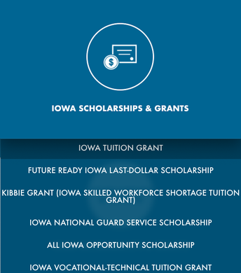 Iowa Scholarships and Grants