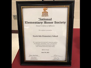National Elementary Honor's Society Induction Ceremony