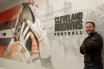 CHRIS COLA (SHS CLASS OF '05) PART OF CLEVELAND BROWNS MEMORABLE SEASON