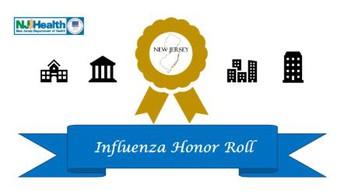 NJDOH Influenza Honor Roll