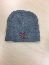 Knit Hat-Grey