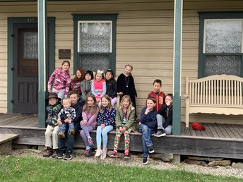 3rd graders visited the Quincy museum last Thursday