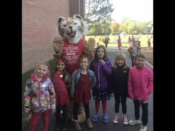 Students with Roary
