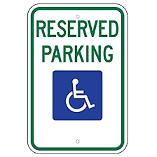 Be Respectful of Posted and Reserved Parking