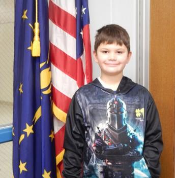 2nd Grade Panther Pride Winner