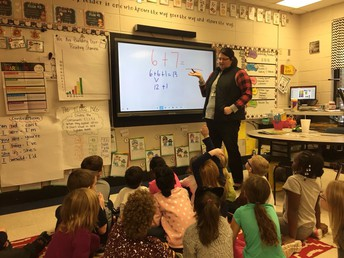 Using Doubles Plus One in First Grade