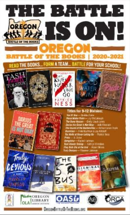 Oregon Battle of the Books - It's On!