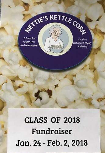 Class of 2018 fundraiser!