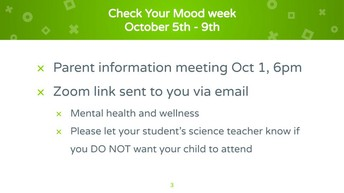 Check your mood week!