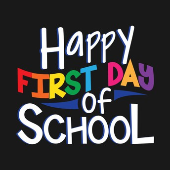 Principal's Note: First Day of School