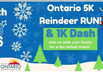 Rudolph Dash Virtual  Fun Run