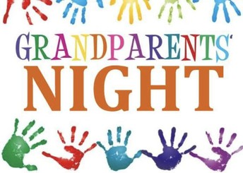 Grandparent's Night ~ Friday, March 8, 2019