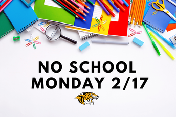 Student Holiday - Monday, February 17th