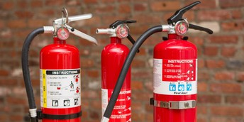 Deciding on the appropriate Fire Extinguishers