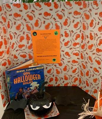 Literary Pumpkin Contest - One Halloween Night!